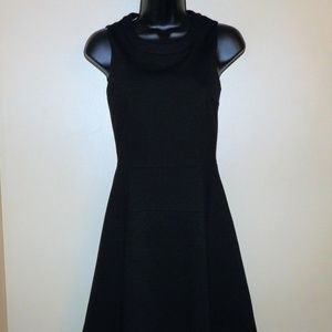 J. Crew Black Lined Sleeveless Dress